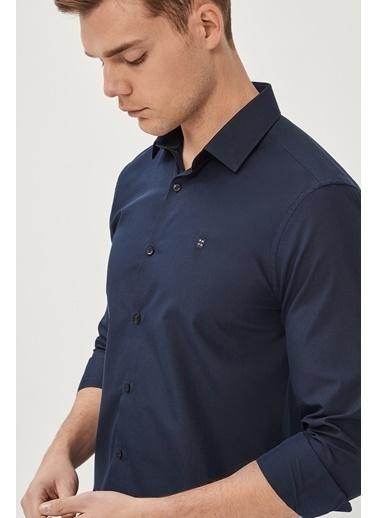 Avva Erkek  Oxford Gömlek E002002 Lacivert